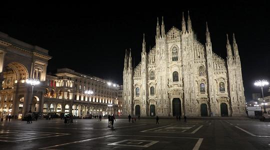 Ausgangssperre Italienisch