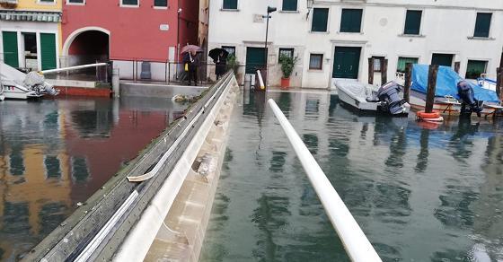 A Chioggia, funziona il mini-Mose - TGR Veneto