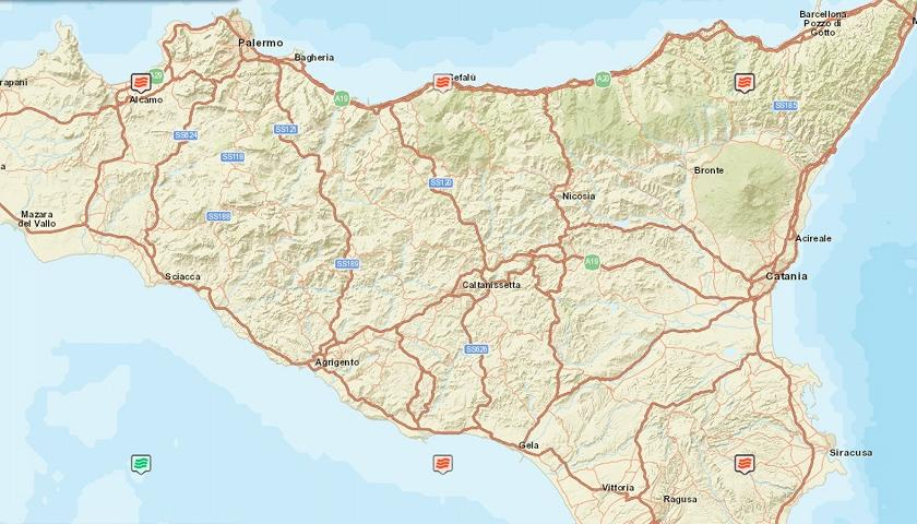 Cartina Sicilia Pdf.Sicilia Le 22 Spiagge Inquinate Secondo Goletta Verde Ecco Quali Sono Ambiente Tgr Sicilia