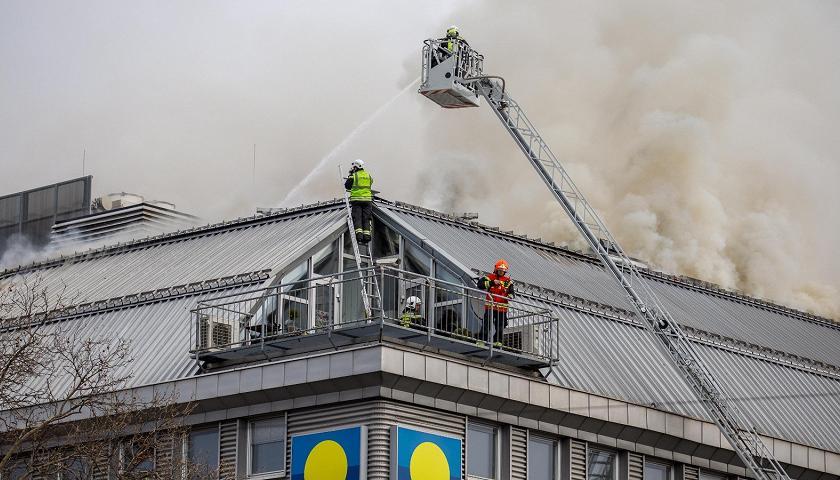 Wiener Donauzentrum Nach Großbrand Geräumt Articolo Tgr Tagesschau