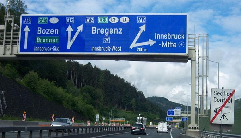 Gesperrte strassen österreich