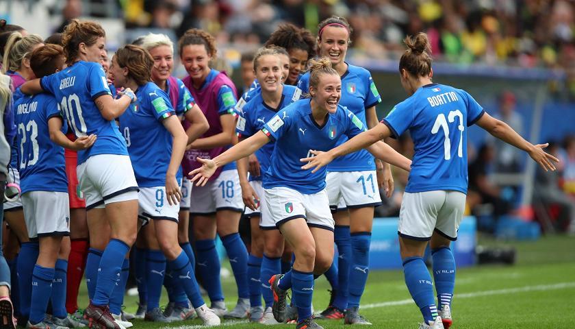 Italiens Fussball Frauen Im Wm Achtelfinale Sport Tgr