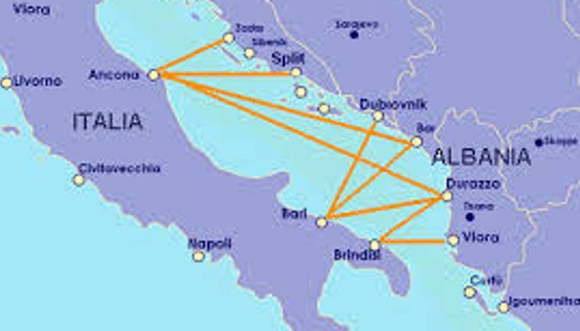 Cartina Puglia Albania.Coronavirus Albania Sospende Voli E Traghetti Con Italia Cronaca Tgr Puglia