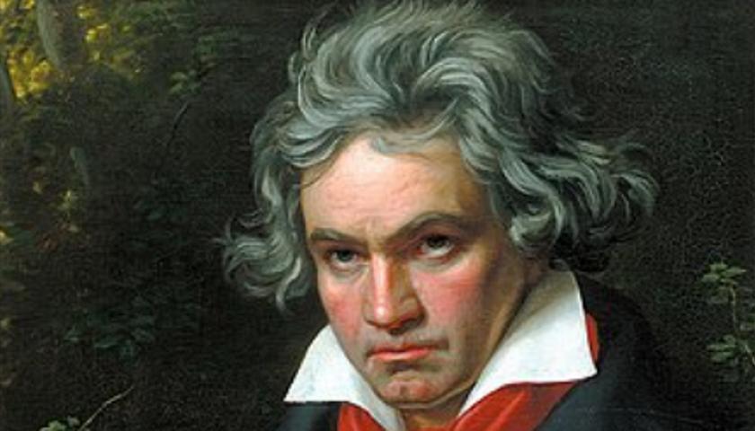 Ludwig van Beethoven nel ritratto di Joseph Stieler, ai tempi della 'Missa Solemnis'