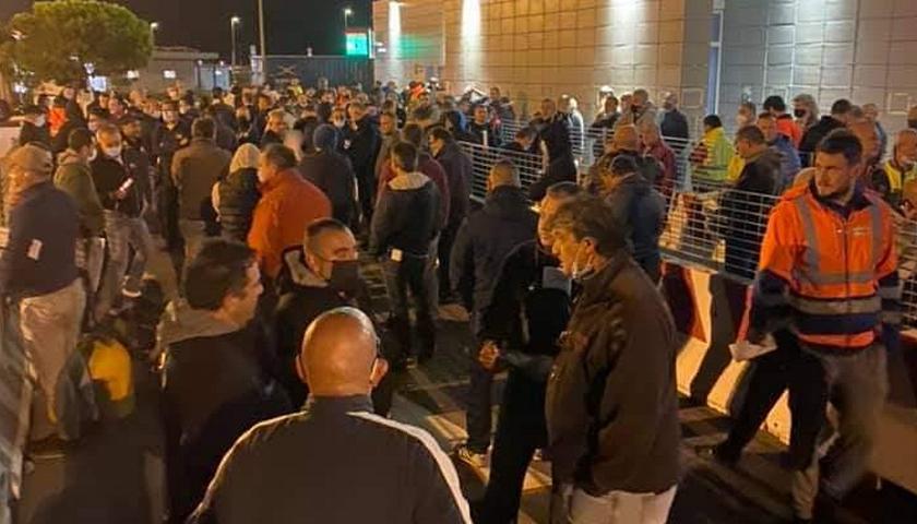 Radnici štrajkuju na terminalu PSA