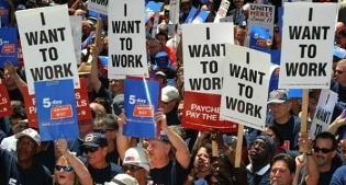 Usa. Gli occupati crescono meno delle attese, la disoccupazione sale al 5%