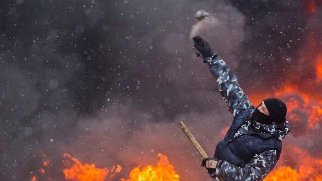 A kiev ancora battaglia video rai news - La porta di kiev ...