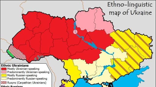 Cartina Geografica Russia Ucraina.L Ucraina Divisa In Due Photogallery Rai News
