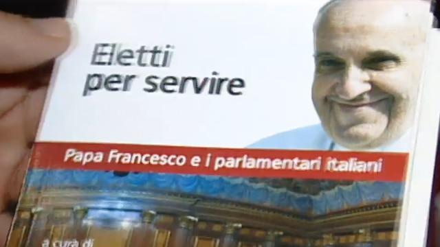 Papa francesco e i parlamentari italiani video rai news for Parlamentari italiani