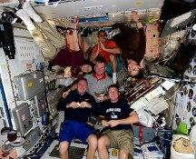 Il #Thanksgiving di @AstroSamantha:  il pranzo di ringraziamento sulla ISS (FOTO)