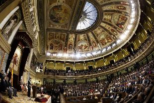 Il parlamento spagnolo riconosce la palestina rai news for Parlamento rai