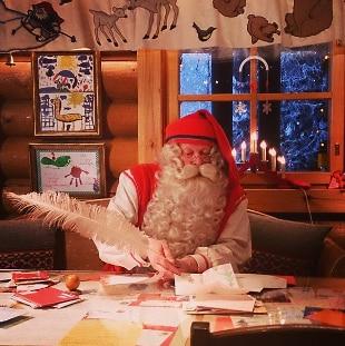 Dov E Babbo Natale.Vuoi Incontrare Babbo Natale Ecco Dove Vive Rai News