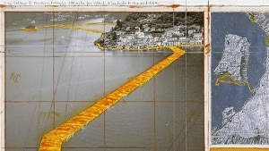 L'ultima invenzione di Christo: il ponte sulle onde del lago d'Iseo