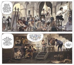 Caravaggio diventa fumetto con Milo Manara