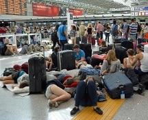 Fiumicino: tensione al Terminal 3, dopo il rogo oggi un black out