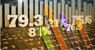 Borse in forte calo, timori per la recessione globale