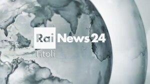 Le notizie del giorno in 40 secondi: i titoli di Rainews24