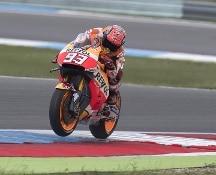 MotoGp: Assen, vince Miller sotto la pioggia, Rossi cade