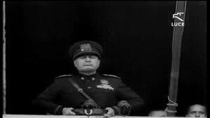 10 giugno 1940: l'Italia dichiara guerra a Francia e Inghilterra. Il discorso di Benito Mussolini