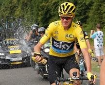 Tour de France, Chris Froome re di Parigi per la terza volta
