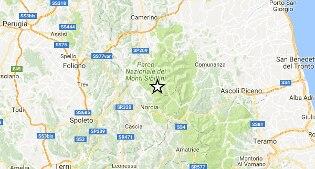 Terremoto, scossa di magnitudo 3.8 a 6 chilometri da Norcia