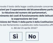 Referendum, il quesito e le precedenti consultazioni
