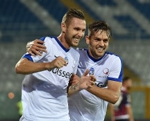 Serie A. Colpo Atalanta in casa del Crotone, ora in campo Cagliari-Sampdoria