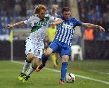 Europa League. Brutto Sassuolo a Genk, i belgi vincono 3-1