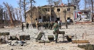 Raid aereo su un mercato a Idlib, almeno 24 morti