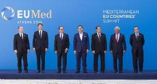 Renzi in Grecia per il meeting dei Paesi dell'Europa meridionale