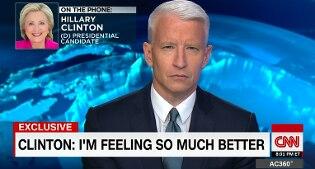 """Hillary Clinton: """"Mi sento meglio, torno tra 2 giorni"""". Il ricovero mancato per nascondere polmonite"""
