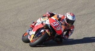 MotoGp. Trionfo Marquez in Aragona. Rossi terzo alle spalle di Lorenzo
