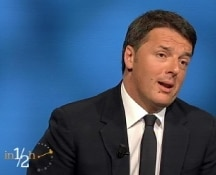 Renzi: non è decisivo lo 0,1%. La nostra battaglia è sul bilancio europeo