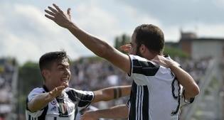 La Juve si scatena nella ripresa e l'Empoli crolla: 0-3
