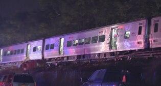 Usa, treno pendolari deraglia vicino New York: decine di feriti