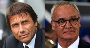 Premier League: Conte travolge Ranieri, Chelsea-Leicester 3-0