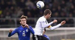 Una buona Italia pareggia 0-0 con la Germania