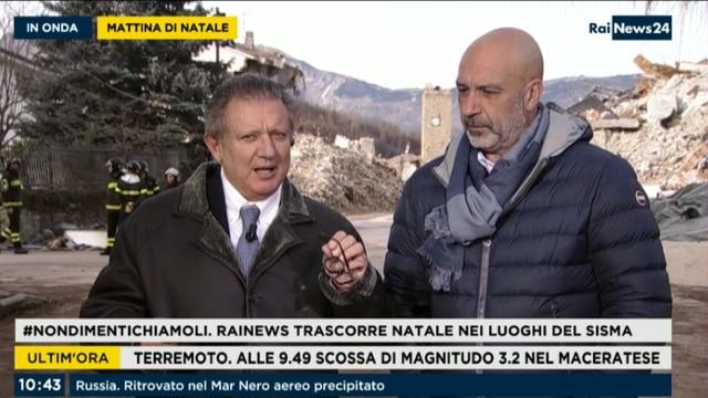 Natale rainews 24 in diretta da amatrice for Addome bella salon