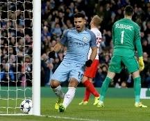 Champions. E' festa del gol, Manchester City-Monaco 5-3 e Bayer Leverkusen-Atletico Madrid 2-4