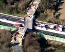 Crollo cavalcavia sulla A14, Il cantiere e le responsabilità. Autostrade: valuteremo errori