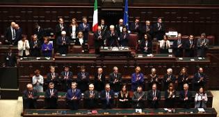 Trattati di roma il parlamento in seduta comune alla for Camera dei deputati tv