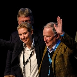 Alice Weidel e Alexander Gauland (Gettyimages)
