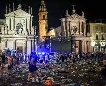 Torino, calca e panico a Piazza San Carlo: nove rinviati a giudizio