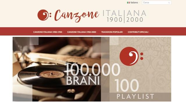 Nasce il portale della canzone italiana un secolo di for Piani di costruzione della piattaforma gratuiti