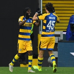 190119 Gervinho Parma Calcio Calcio Stadio Friuli (Alessandro Sabattini/Getty Images)