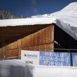 World Economic Forum - Centro Congressi, Davos (Ansa)