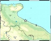 Alle 10,13 trema la Puglia: terremoto di magnitudo 3.9 nell'area di Barletta