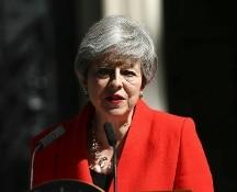 Gran Bretagna, Theresa May annuncia le dimissioni per il 7 giugno
