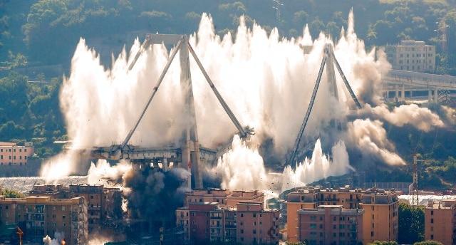 Ponte Morandi, Di Maio: Aspi chiarisca perché voleva demolirlo. Atlantia:  dubbi pretestuosi - Rai News