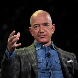 Jeff Bezos (MARK RALSTON/AFP/Getty Images)